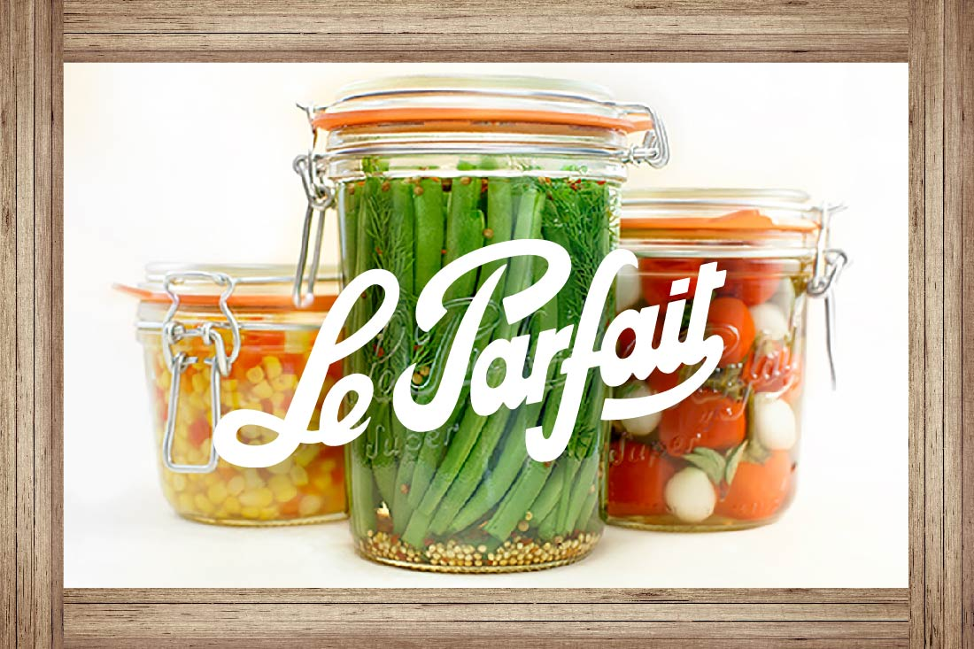 a38c8a1f01ad Le Parfait Canning Jars – Down To Earth Home, Garden and Gift